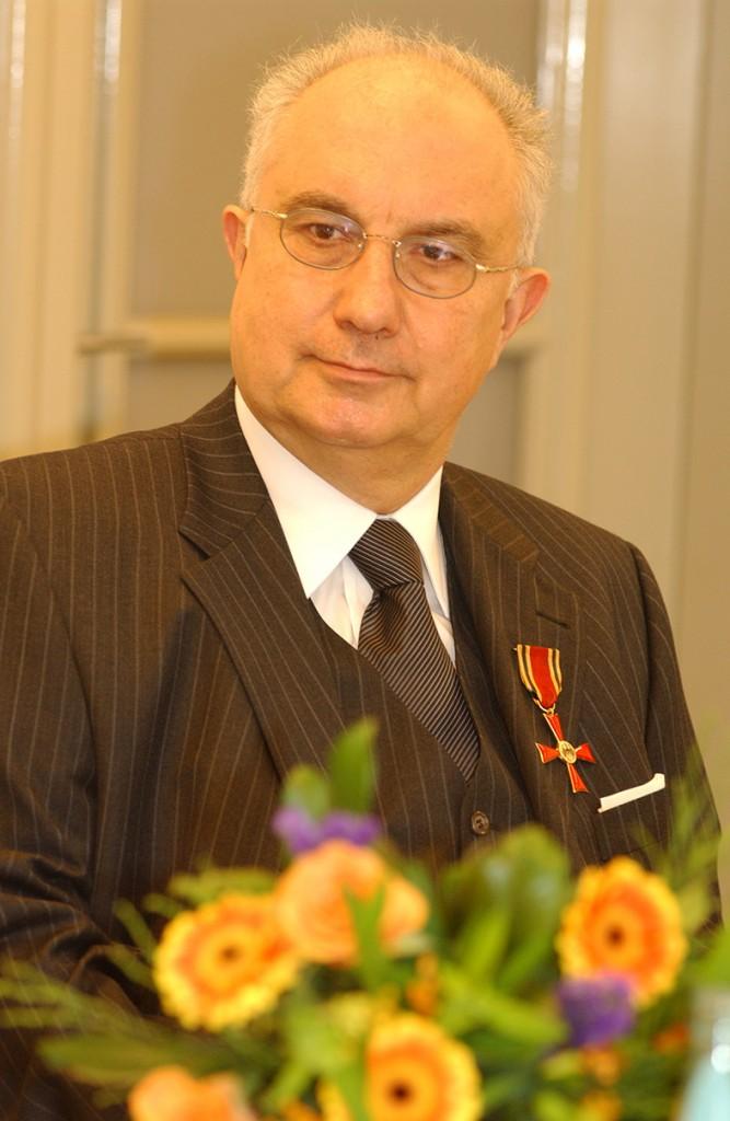 Bundesverdienstkreuz Jürgen Schulz